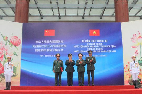 Bộ trưởng Quốc phòng Việt Nam - Trung Quốc nói về Biển Đông tại Hà Nội - ảnh 3