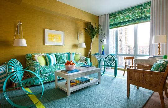 6 xu hướng màu sắc cho phòng khách mùa hè 2019 - Ảnh 7.