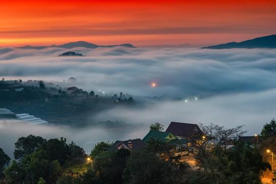 Những điểm ngắm sương vờn mây lúc bình minh ở Đà Lạt - Ảnh 7.