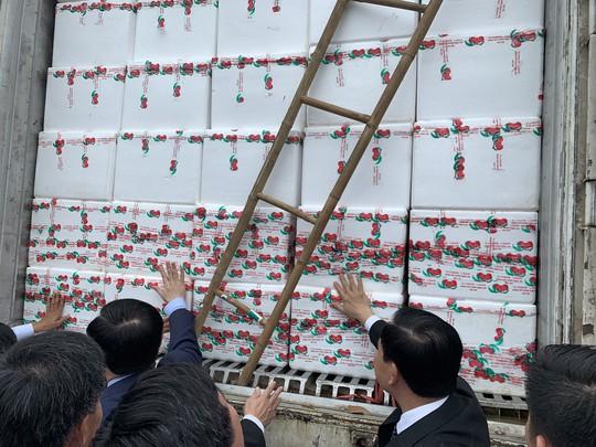 Vải thiều Bắc Giang hợp khẩu vị người Trung Quốc và được hứa tạo thuận lợi