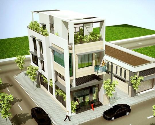 10 mẫu nhà phố 6x10m đẹp xiêu lòng - Ảnh 1.