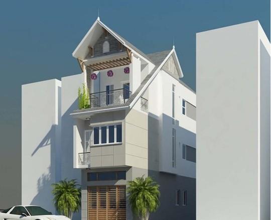 10 mẫu nhà phố 6x10m đẹp xiêu lòng - Ảnh 4.