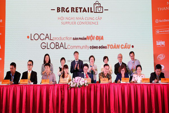 Tập đoàn BRG công bố chiến lược mua tập trung hàng hóa 15.000 tỉ đồng/năm - Ảnh 1.