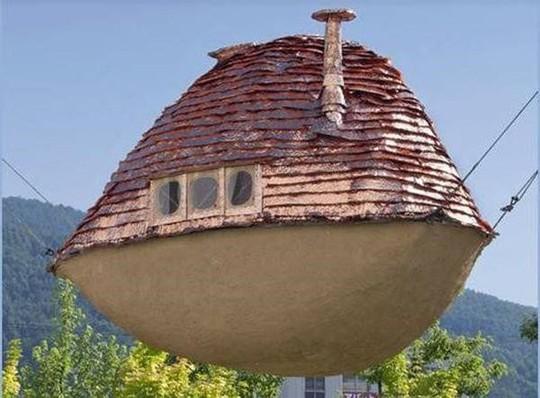 Những căn nhà siêu dị trên thế giới, vượt xa trí tưởng tượng - Ảnh 2.