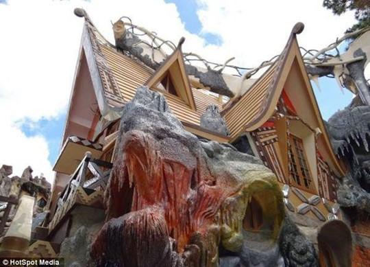 Những căn nhà siêu dị trên thế giới, vượt xa trí tưởng tượng - Ảnh 6.
