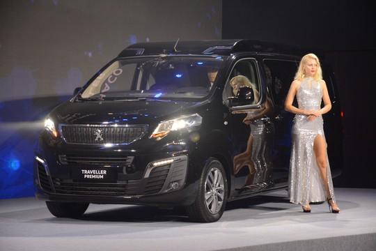 Thaco ra mắt xe đa dụng châu Âu Peugeot Traveller giá 1,7 tỉ đồng