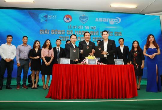 Sau 20 năm tổ chức, Giải Hạng nhì quốc gia mới lần đầu tiên có nhà tài trợ - Ảnh 1.