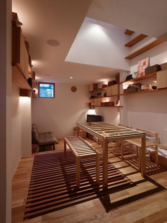 Ngôi nhà siêu nhỏ nhưng đầy đủ công năng ở Nhật Bản - Ảnh 11.