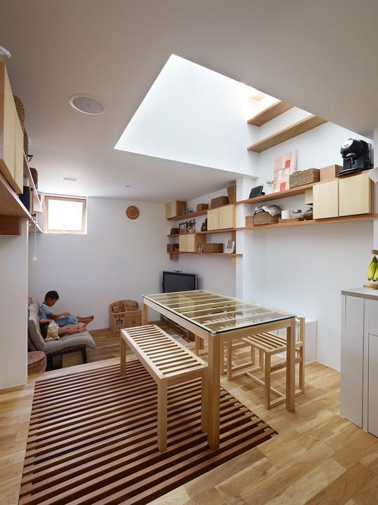 Ngôi nhà siêu nhỏ nhưng đầy đủ công năng ở Nhật Bản - Ảnh 5.
