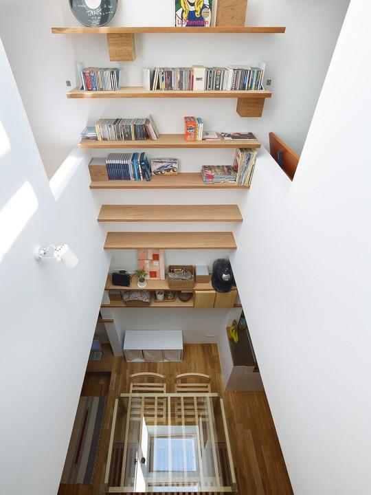 Ngôi nhà siêu nhỏ nhưng đầy đủ công năng ở Nhật Bản - Ảnh 7.