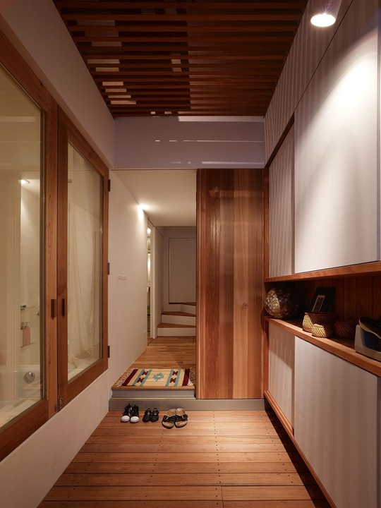 Ngôi nhà siêu nhỏ nhưng đầy đủ công năng ở Nhật Bản - Ảnh 8.