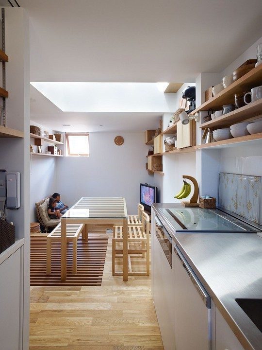 Ngôi nhà siêu nhỏ nhưng đầy đủ công năng ở Nhật Bản - Ảnh 10.