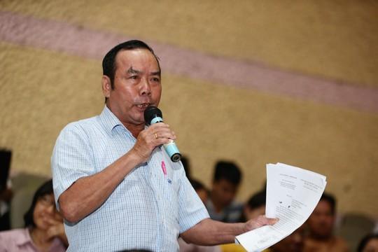 Nguyên Chủ tịch HĐND TP HCM Nguyễn Thị Quyết Tâm tiếp xúc cử tri quận 2 - Ảnh 3.