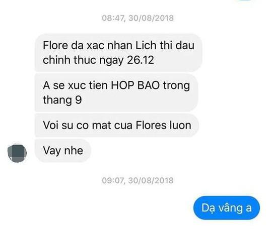 Lùm xùm quanh trận đấu giữa võ sư Flores và nam vương boxing Việt - Ảnh 3.