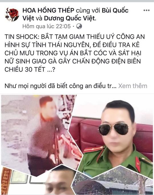 Thuc hu thong tin thieu uy hinh su la chu muu vu nu sinh giao ga bi sat hai