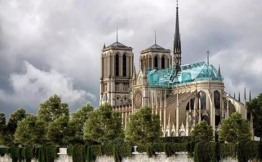 10 ý tưởng tái thiết kế Nhà thờ Đức Bà Paris - Ảnh 5.