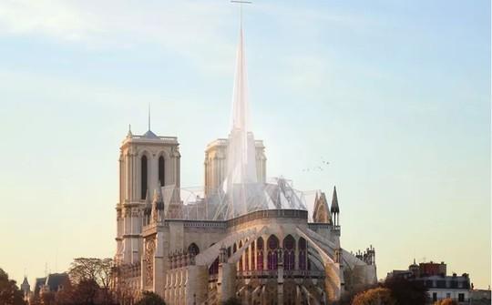 10 ý tưởng tái thiết kế Nhà thờ Đức Bà Paris - Ảnh 6.