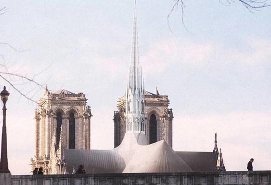 10 ý tưởng tái thiết kế Nhà thờ Đức Bà Paris - Ảnh 8.