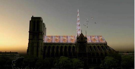 10 ý tưởng tái thiết kế Nhà thờ Đức Bà Paris - Ảnh 9.