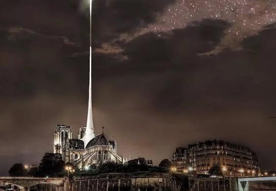 10 ý tưởng tái thiết kế Nhà thờ Đức Bà Paris - Ảnh 10.