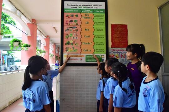 Cải thiện tầm vóc trẻ em thông qua bữa ăn học đường dinh dưỡng - Ảnh 2.