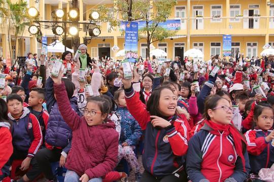 """Sữa học đường của Hà Nội: """"Dấu son"""" cần nhân rộng - Ảnh 1."""