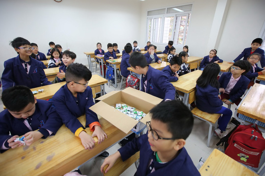 """Sữa học đường của Hà Nội: """"Dấu son"""" cần nhân rộng - Ảnh 2."""