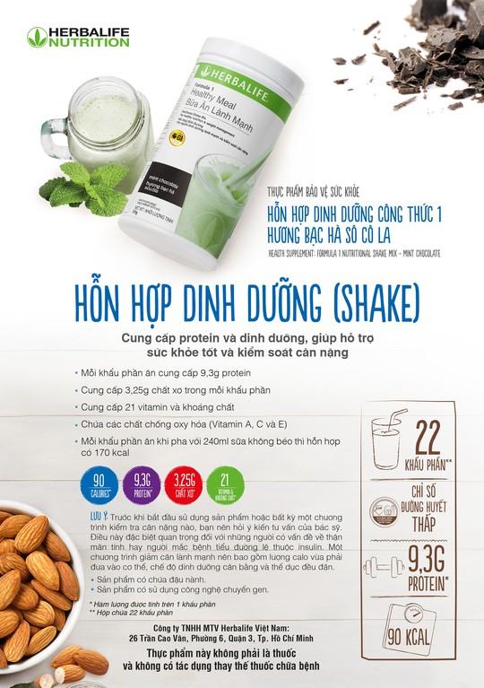 Tập đoàn Herbalife Nutrition: Các sản phẩm của chúng tôi hoàn toàn an toàn... - Ảnh 1.