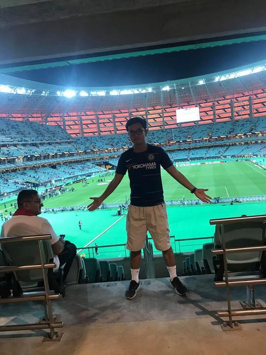 Hành trình sang Baku đáng nhớ của 1 CĐV Chelsea từ Việt Nam - Ảnh 1.