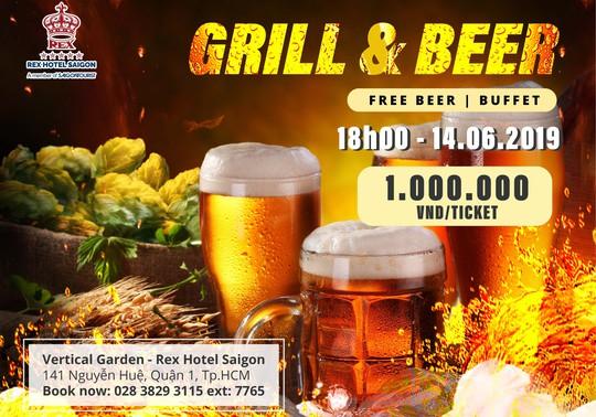 Vertical Garden - Rex Hotel Saigon: Thưởng thức tiệc buffet 5 sao tại Grill & Beer - Ảnh 3.