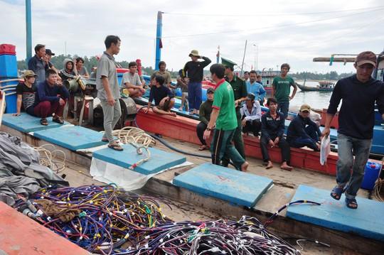 Nghe ngư dân kể lại việc bị tàu Trung Quốc cướp 2 tấn mực - Ảnh 6.