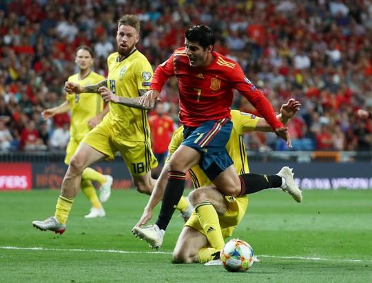 Vòng loại Euro 2020: Chân gỗ Morata lập công, Tây Ban Nha hạ đẹp Thụy Điển - Ảnh 6.
