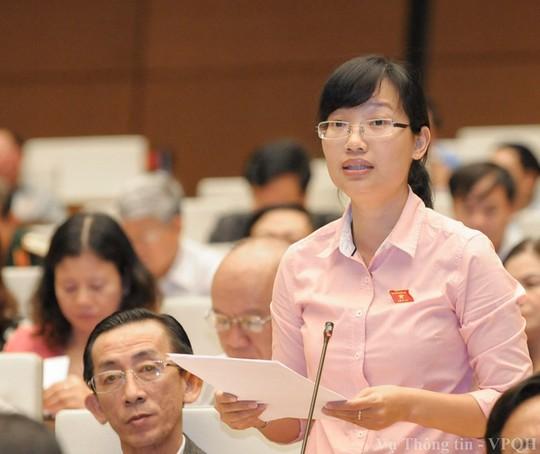Đại biểu Trần Thị Diệu Thúy: Không đồng ý đề xuất tăng tuổi nghỉ hưu - ảnh 1