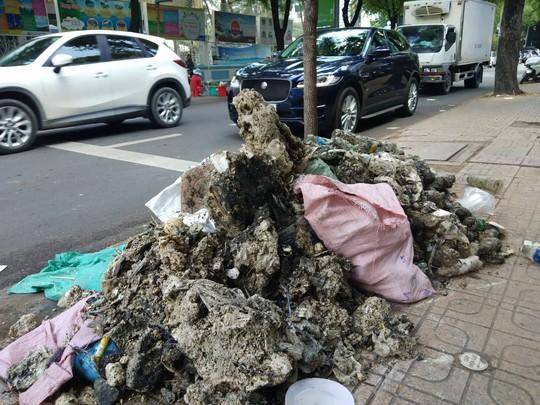 CLIP: Kinh hãi rác chết người' dưới lòng cống ở TP HCM - ảnh 5