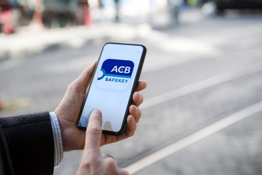 ACB SafeKey gia tăng bảo mật giao dịch trực tuyến - Ảnh 1.