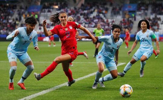 Sốc: Tuyển Thái Lan thua thảm 0-13 tại World Cup bóng đá nữ - Ảnh 2.