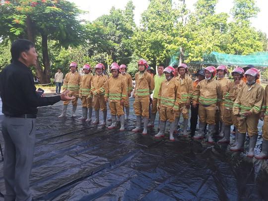 VWS thực tập PCCC và cứu hộ cứu nạn - Ảnh 1.