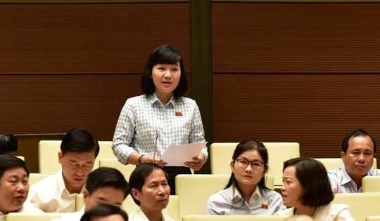 Đại biểu Trần Thị Diệu Thúy: Không đồng ý đề xuất tăng tuổi nghỉ hưu - Ảnh 2.