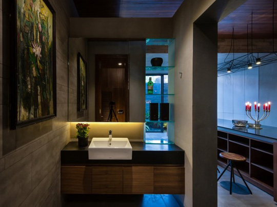 Ngôi nhà lấy cảm hứng từ nhà truyền thống Việt Nam - Ảnh 14.