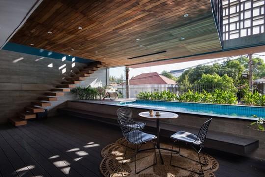 Ngôi nhà lấy cảm hứng từ nhà truyền thống Việt Nam - Ảnh 4.
