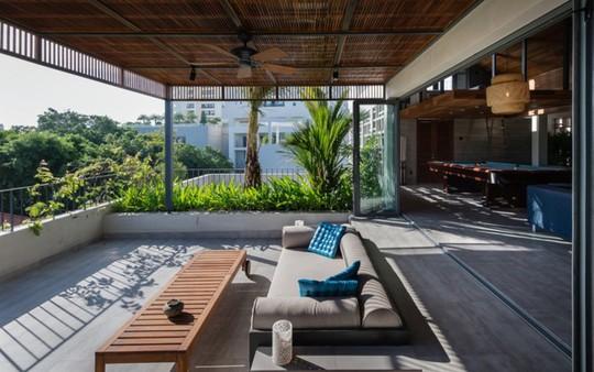 Ngôi nhà lấy cảm hứng từ nhà truyền thống Việt Nam - Ảnh 5.