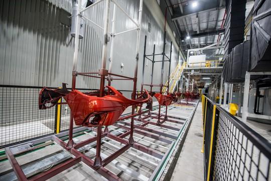 Cận cảnh Khu nhà máy sản xuất ô tô VinFast - Ảnh 18.