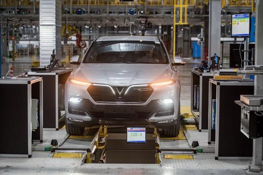 Cận cảnh Khu nhà máy sản xuất ô tô VinFast - Ảnh 16.