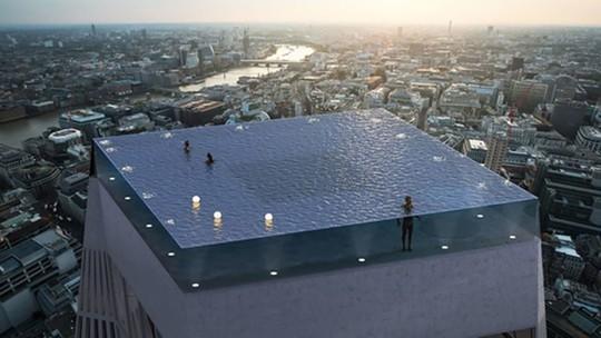 Bể bơi vô cực 360 độ đầu tiên trên thế giới sắp ra mắt - Ảnh 1.