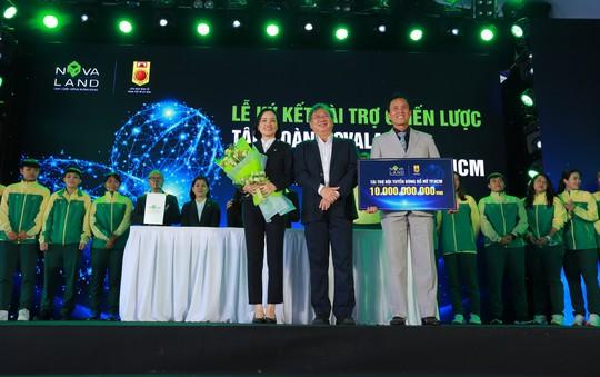 Tập đoàn Novaland tài trợ 10 tỉ đồng cho bóng rổ nữ TP HCM - Ảnh 1.
