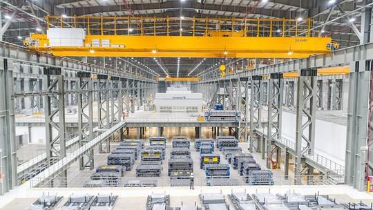 Cận cảnh Khu nhà máy sản xuất ô tô VinFast - Ảnh 3.