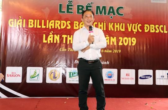Giải Bida Báo chí ĐBSCL lần thứ 12 do Báo Người Lao Động tổ chức thành công tốt đẹp - Ảnh 9.