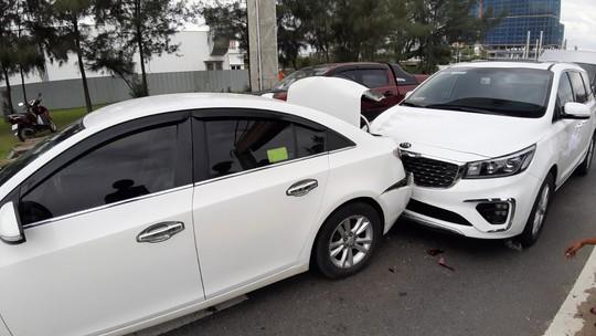 Cửa ngõ Quảng Nam – Đà Nẵng ùn tắc vì tai nạn liên hoàn - Ảnh 2.
