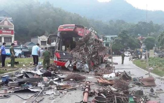 Không có dữ liệu tốc độ xe tải chở sắt trong vụ tai nạn kinh hoàng 3 người chết, 38 người bị thương - ảnh 3