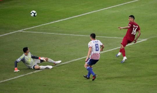 Ngược dòng cầm hòa Paraguay, Qatar gây sốc Copa America - ảnh 6